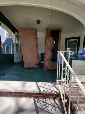 Couch Removal - Midwood, Brooklyn, NY - Before Photo