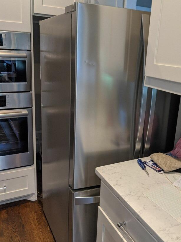 Fridge Removal in Chapel Hill, NC - Before Photo