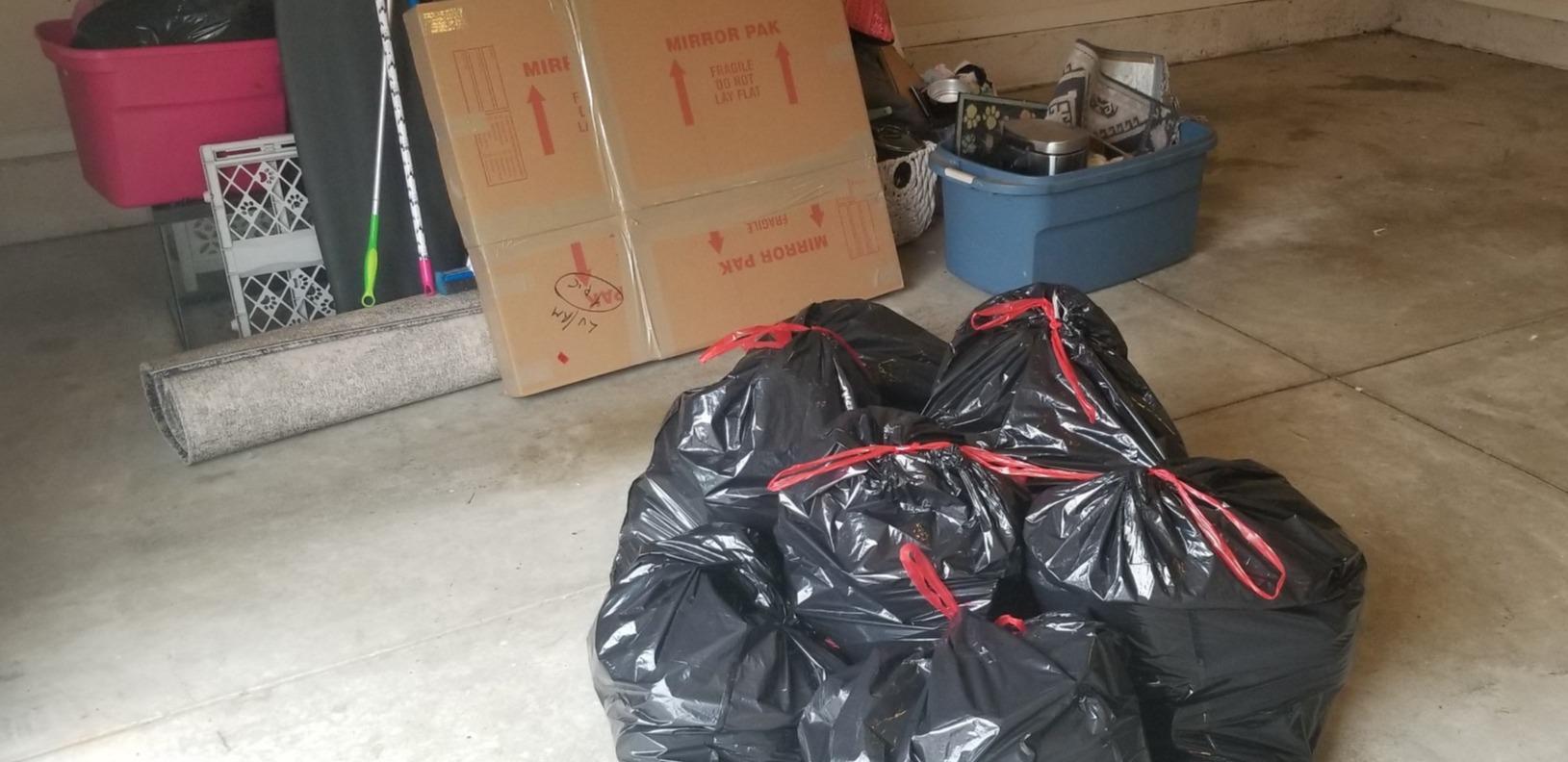 Quick Garage Pickup in Durham, NC - Before Photo