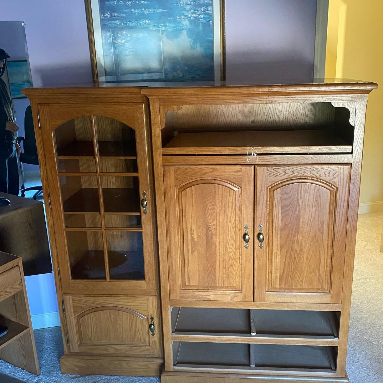Wall Unit Removal in Morrisville, NC - Before Photo