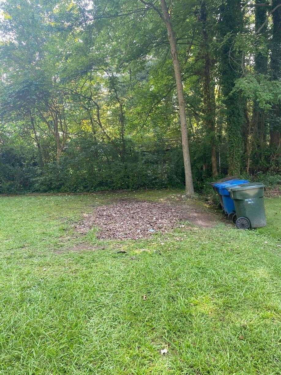 Shed removal in Durham, NC - After Photo