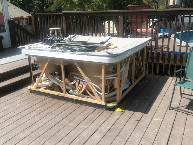 Hot Tub Removal in Holly Springs