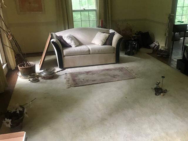 Living Room Clean Out in Raleigh, NC