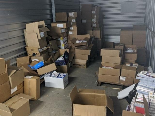 Storage Unit Cleanout in Holly Springs, NC