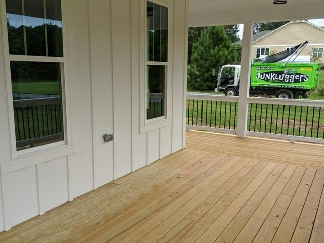 Outside Deck Pick Up in Cary, NC