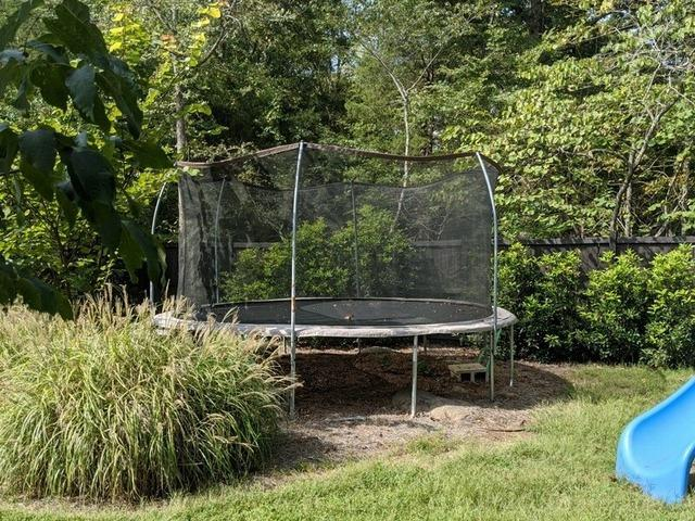 Trampoline Removal in Durham, NC