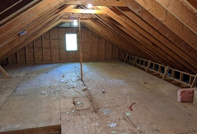 Attic Clean Out in Chapel Hill, NC - After Photo