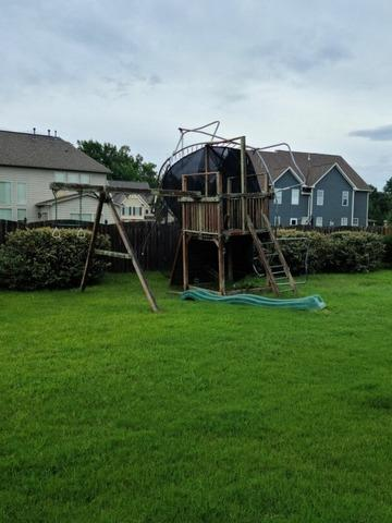 Wooden Playset & Trampoline Removal in Fuquay Varina, NC