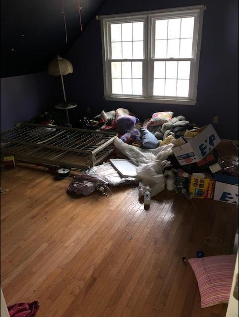 Room Cleanout in Mechanicsville, VA - Before Photo
