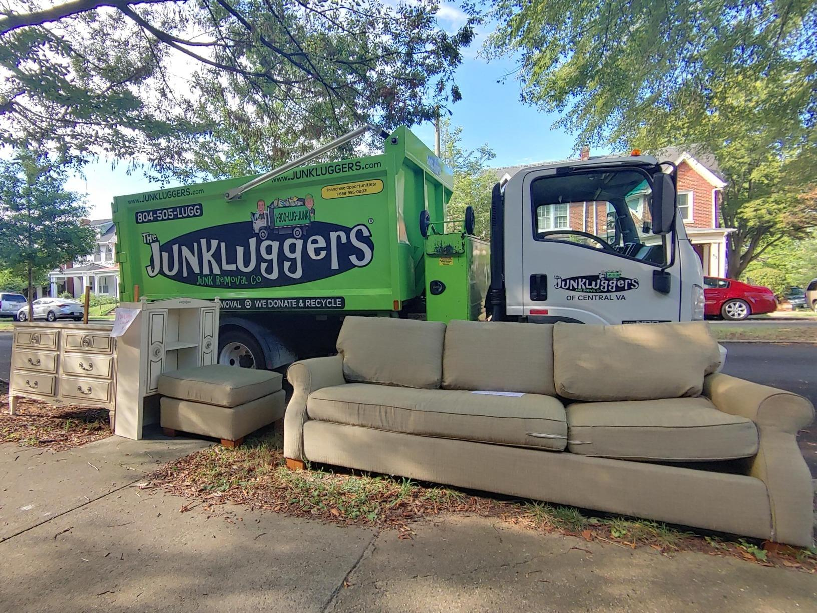 Curbside Pickup in Richmond, VA - Before Photo