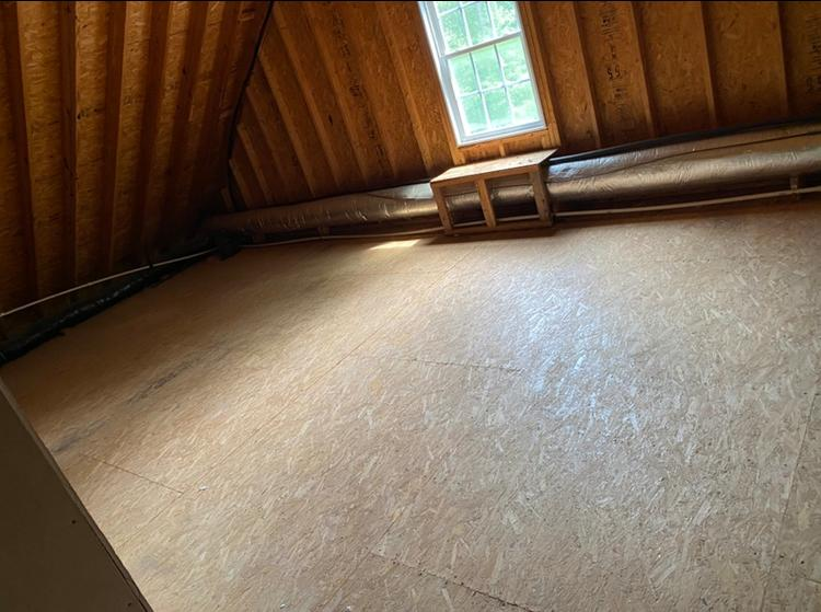 Need your attic cleaned out?! Too hot? Call the JunkLuggers!!!! - After Photo
