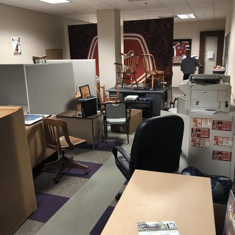 Office Cleanout in Richmond, VA
