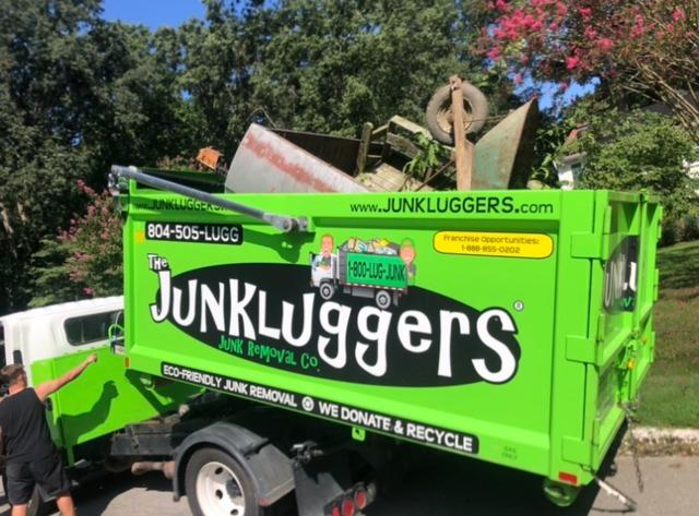 Tired of staring at your old trailer in the backyard?! Call the JunkLuggers!!!!