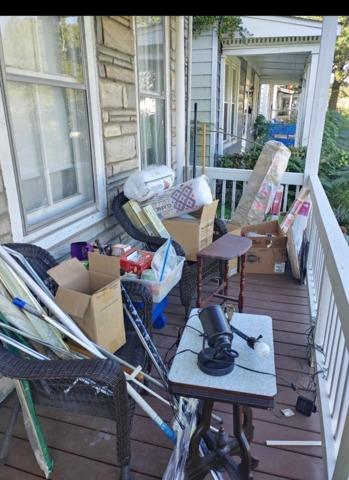Looking for a junk removal solution during covid-19?! Leave your items on the porch and we will pick them up for a 10% discount!!!! - Before Photo