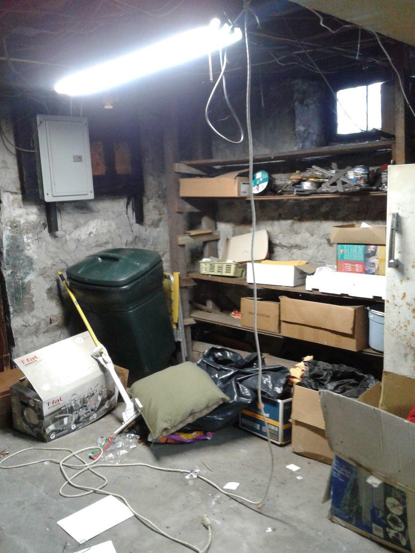 Basement Cleanout - Norwalk CT - Before Photo
