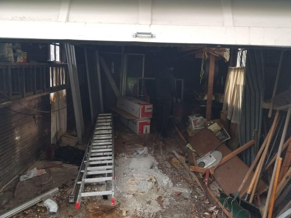 Garage Cleanout in Pelham, NY - Before Photo