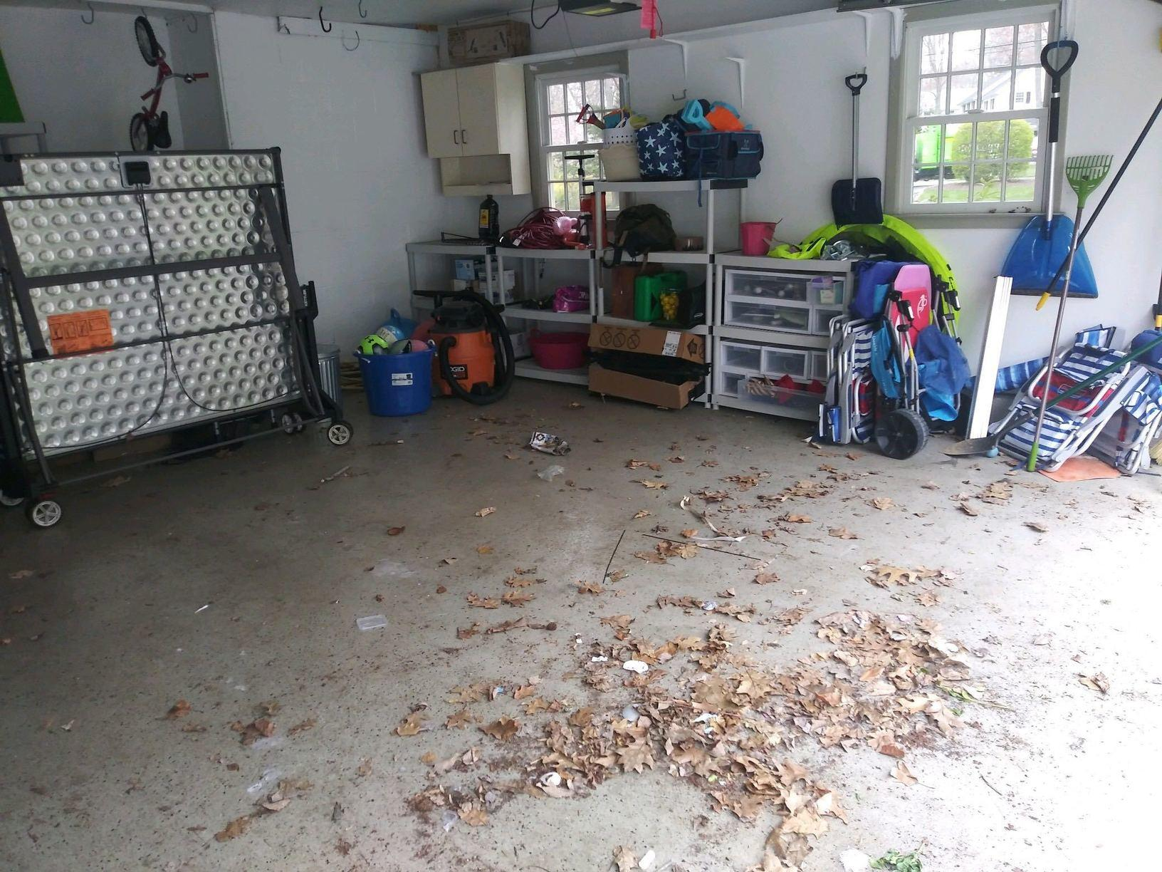 Garage Cleanout in Darien, CT - After Photo