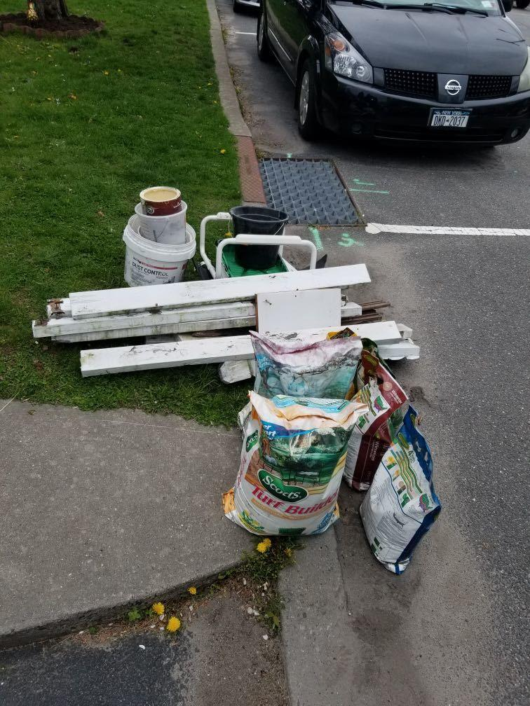 Curbside Pickup in West Harrison, NY - Before Photo
