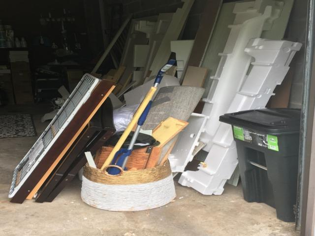 New Canaan CT, Garage Clean Out