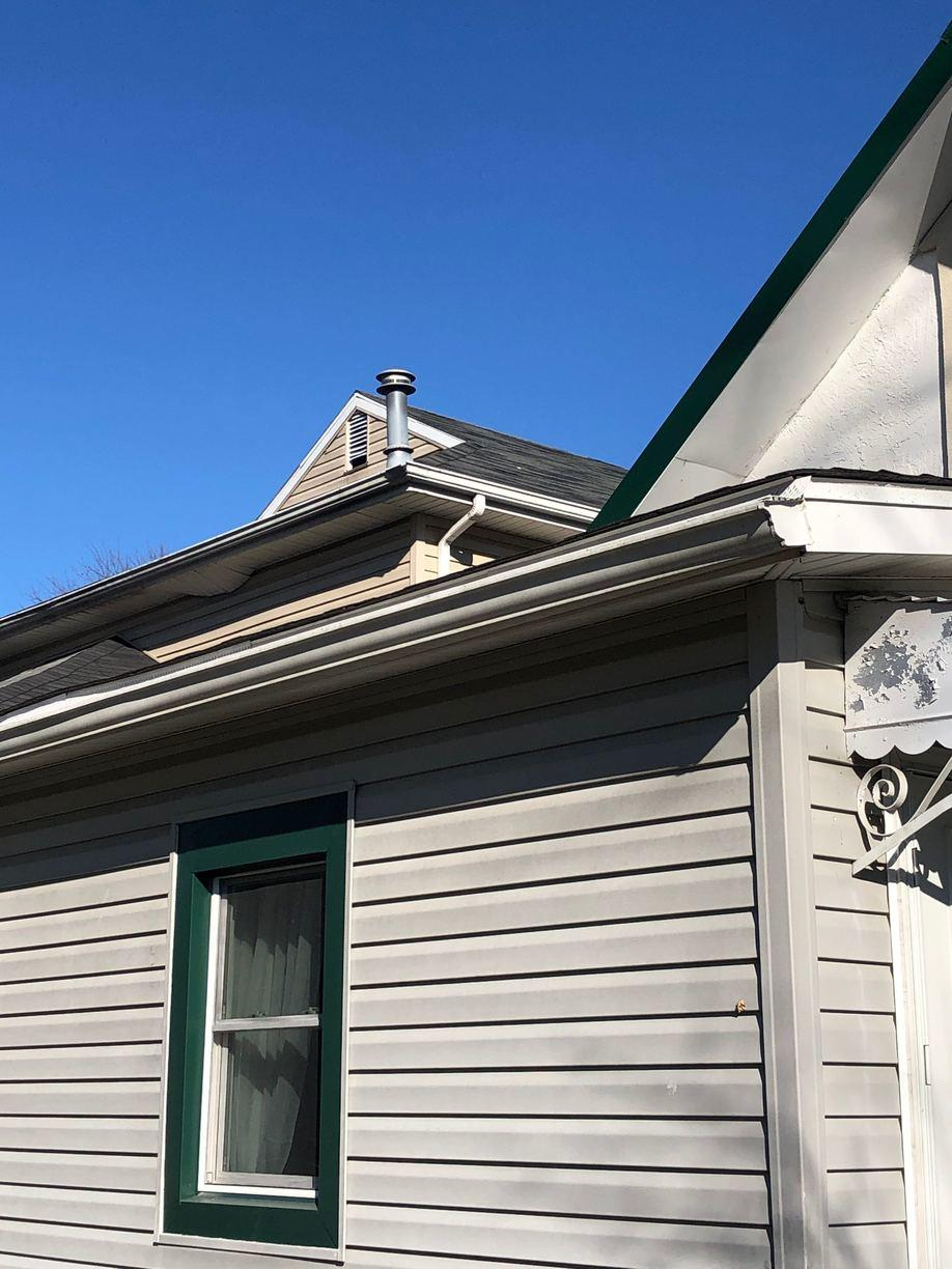 Klaus Roofing Of Ohio Before Amp After Photo Set Gutter