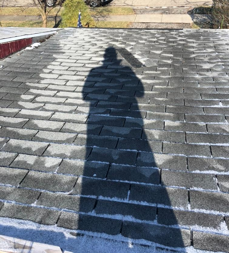 Roof Replacement in Columbus, OH - Before Photo
