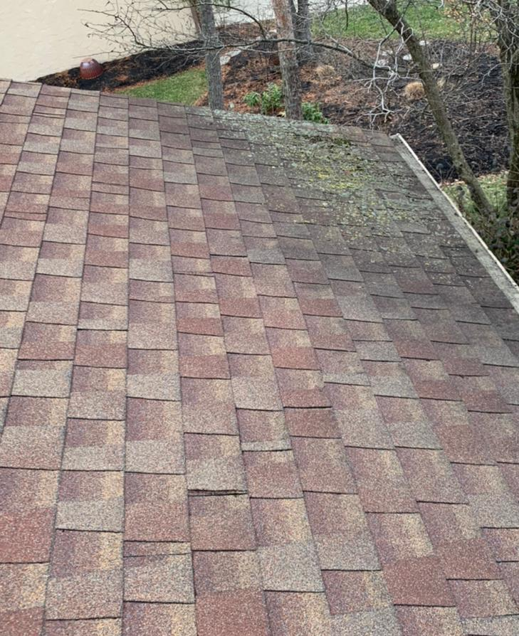 Roof Replacement in Westerville, OH - Before Photo