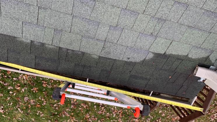 Roof Repair in Reynoldsburg, OH - Before Photo