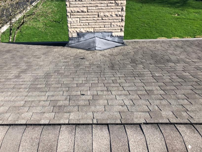 Roof Repair in Canal Winchester, OH - Before Photo