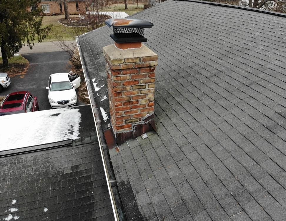 Roof Replacement in Pickerington, OH - Before Photo
