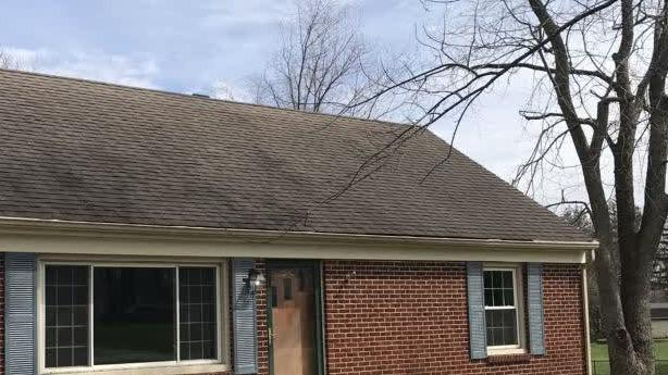 Roof Replacement in Springfield, OH - Before Photo