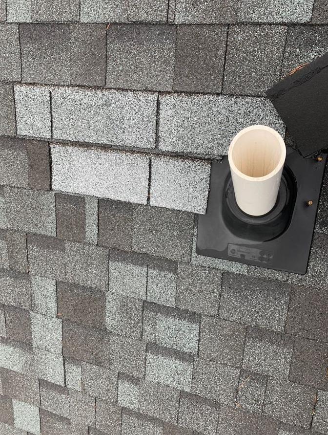 Roof Repair in Plain City, OH - Before Photo