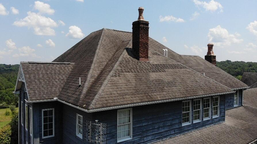 Roof Replacement in Logan, OH - Before Photo