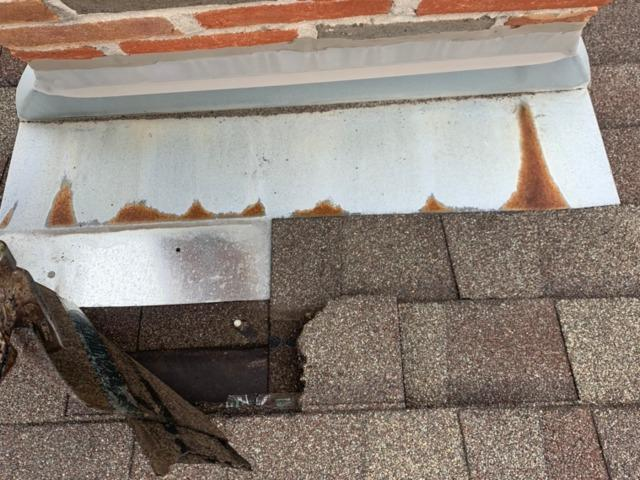 Roof Repair in Powell, OH - Before Photo
