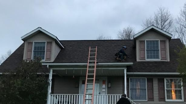 Roof Replacement in Albany, OH - After Photo