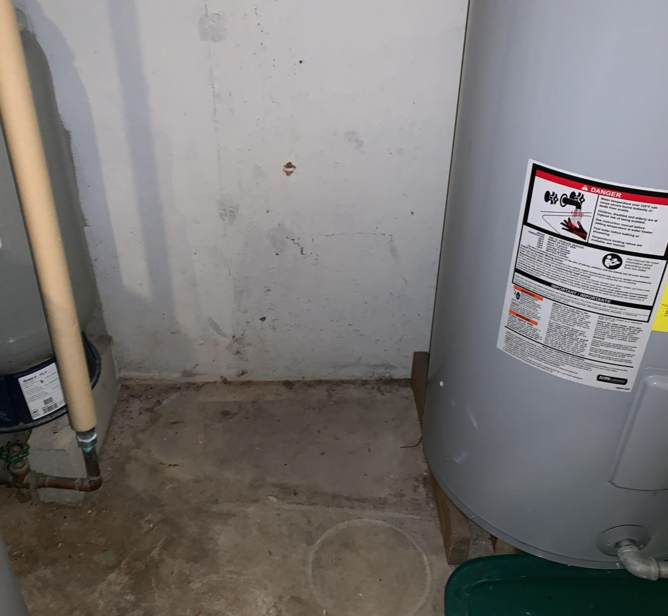 Radon Mitigation Battle Creek, MI - Before Photo