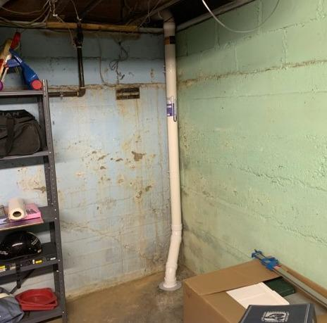 Radon Extraction Point in Richland, MI - After Photo
