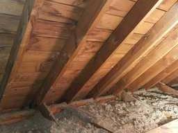 Under insulated Loft Livonia, MI - Before Photo