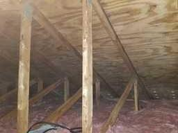 Attic Mold Remediation, West Bloomfield - After Photo