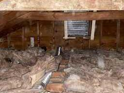 Unser Insulated Attic, Rochester - Before Photo