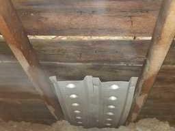 Fowlerville Michigan Attic Mold found