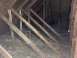 Under insulated Attic, West Bloomfield - Before Photo