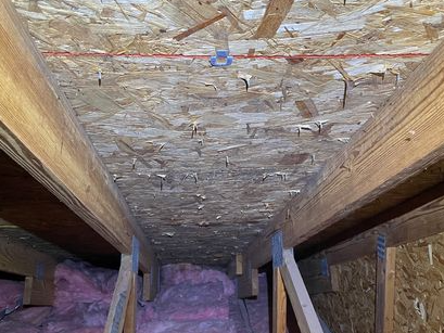 Mold discovered in the attic, Birmingham