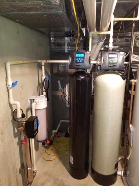 Purcellville, VA. New Water Softener for Hardness - After Photo