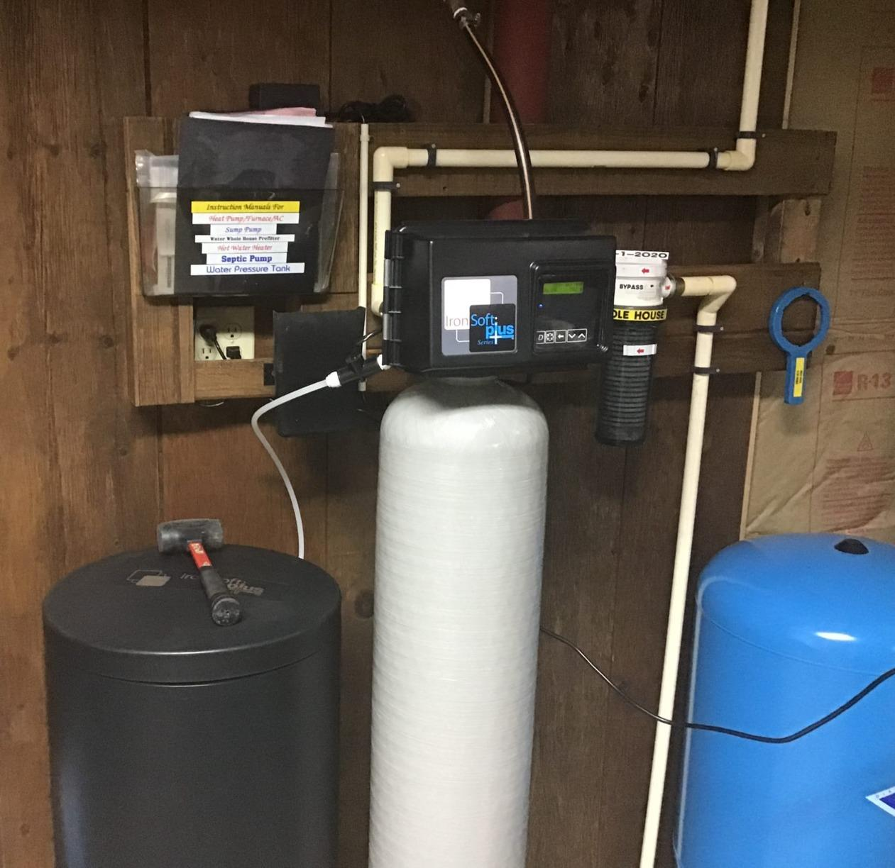 Front Royal, VA. Water Softener for Sulfur Smell - Before Photo