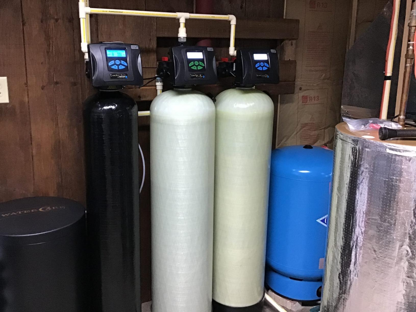 Front Royal, VA. Water Softener for Sulfur Smell - After Photo