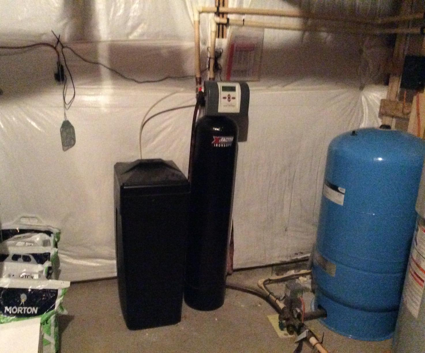 Aldie VA Water Softener for Hardness - Before Photo