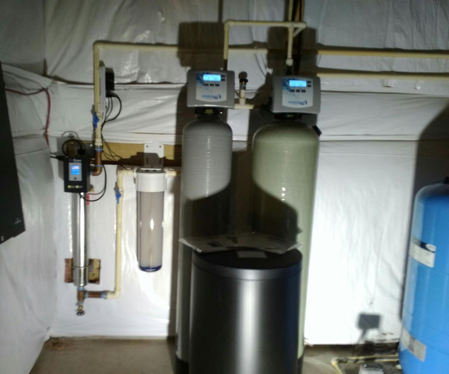 Aldie VA Water Softener for Hardness - After Photo