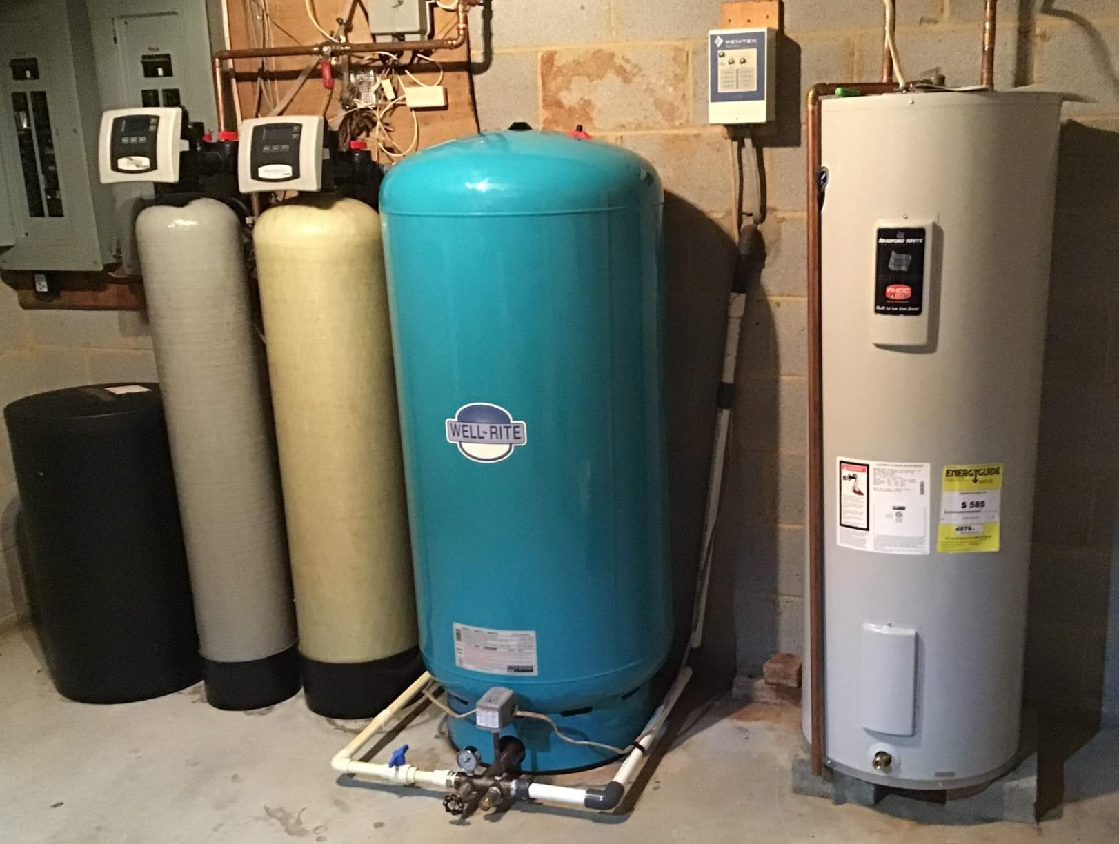 Leesburg, VA. Pressure Tank Replacement - After Photo