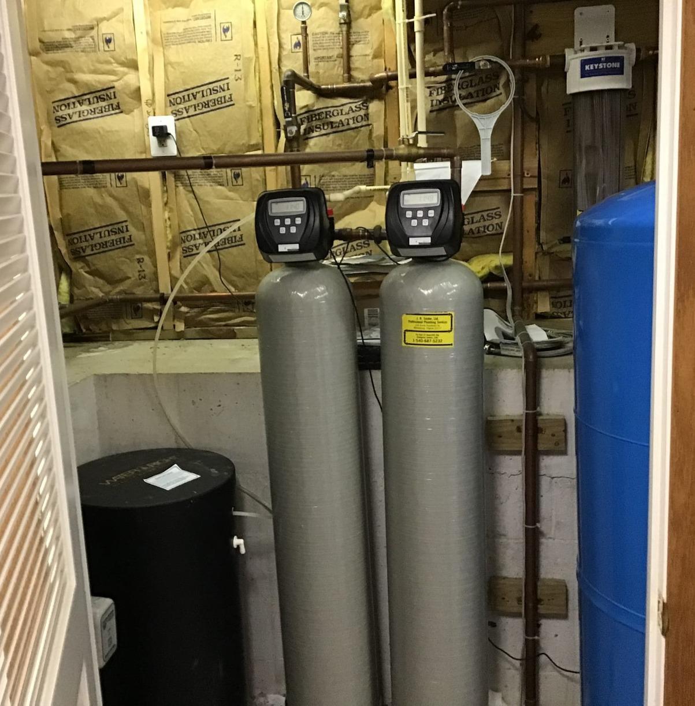 Hume VA, WaterCare Water Treatment Upgrades - Before Photo