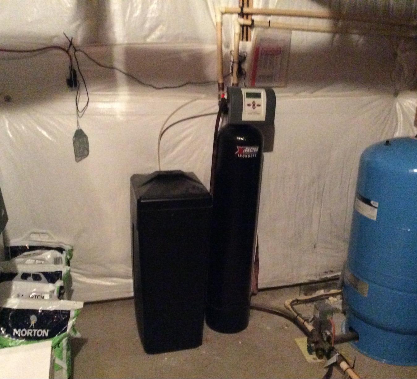 Aldie, VA Water Treatment Install - Before Photo